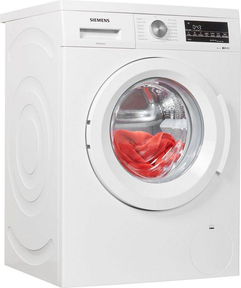 siemens waschmaschine iq500 wu14q440 7 kg 1400 u min. Black Bedroom Furniture Sets. Home Design Ideas