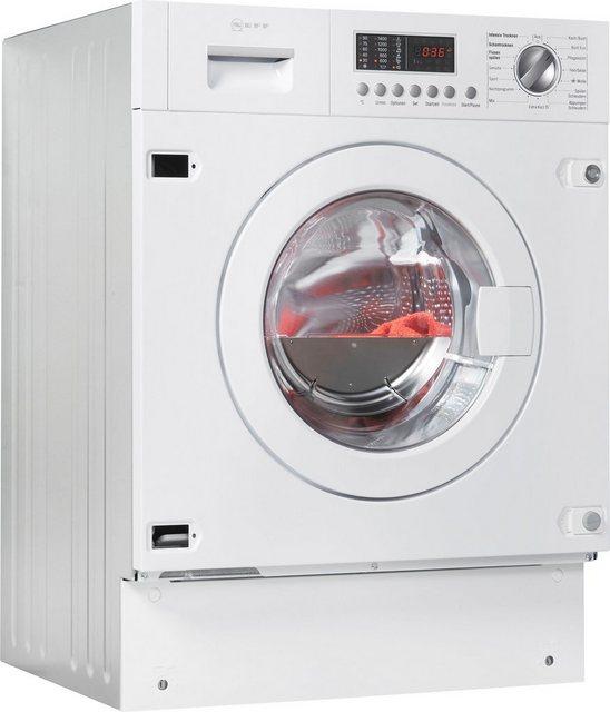 NEFF Einbauwaschtrockner V6540X1, 7 kg/4 kg, 1400 U/Min