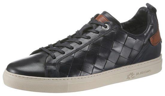 La Martina »Toledo« Sneaker in edler Flecht-Otpik