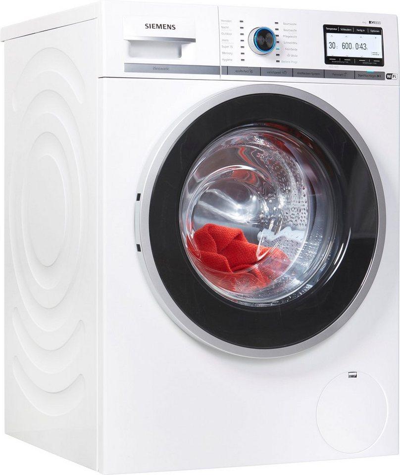siemens waschmaschine iq800 wm4yh748 8 kg 1400 u min. Black Bedroom Furniture Sets. Home Design Ideas