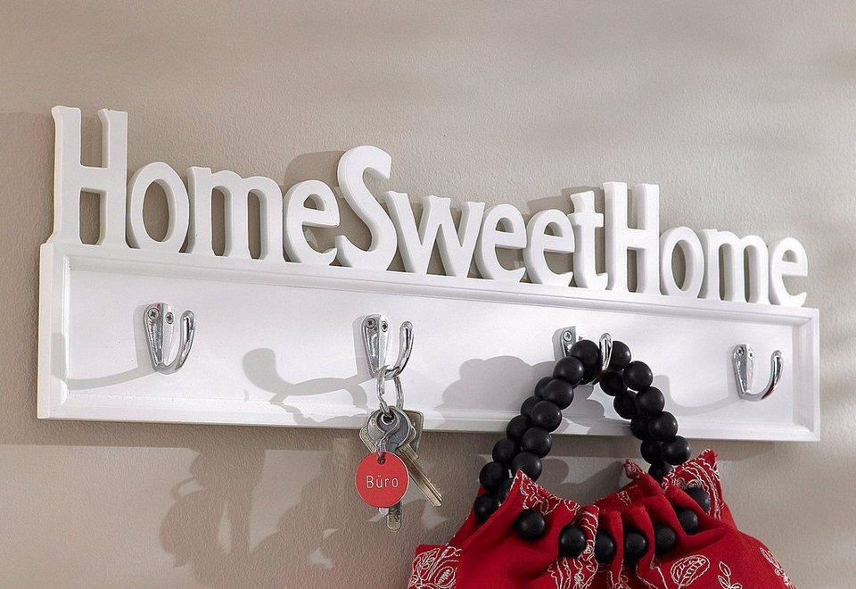 home affaire garderobe home sweet home kaufen otto. Black Bedroom Furniture Sets. Home Design Ideas