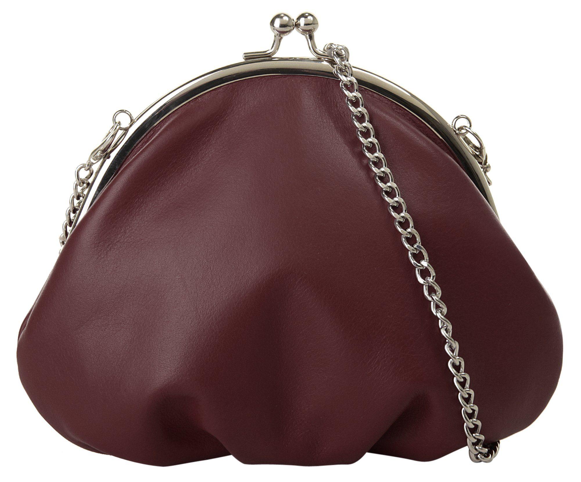 Tamaris Handtasche, Henkeltasche, Raffungen, 3 Farben: schwarz, nut braun antik oder taupe braun