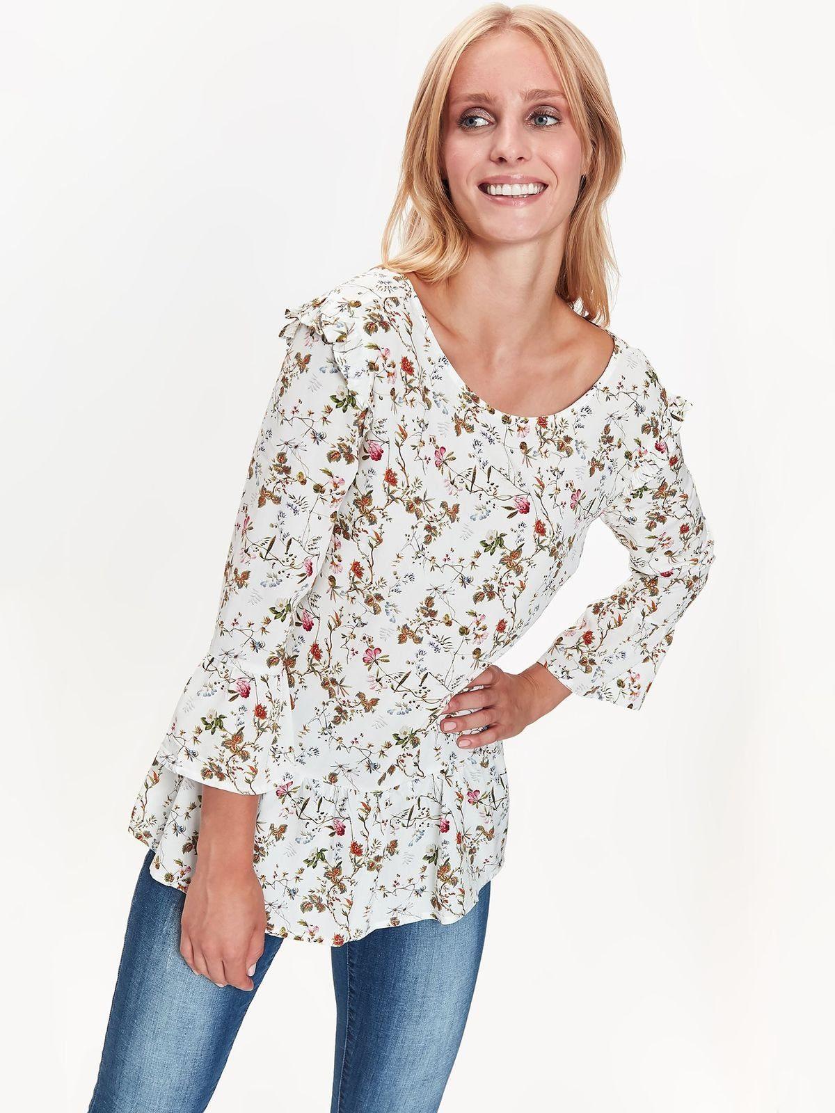TOP SECRET Bluse mit niedlichem Blumen-Druck