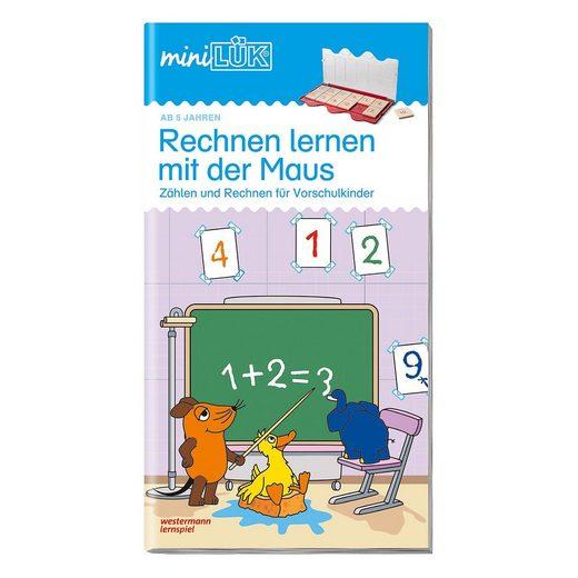 Westermann Verlag miniLÜK: Rechnen lernen mit der Maus 1, Übungsheft