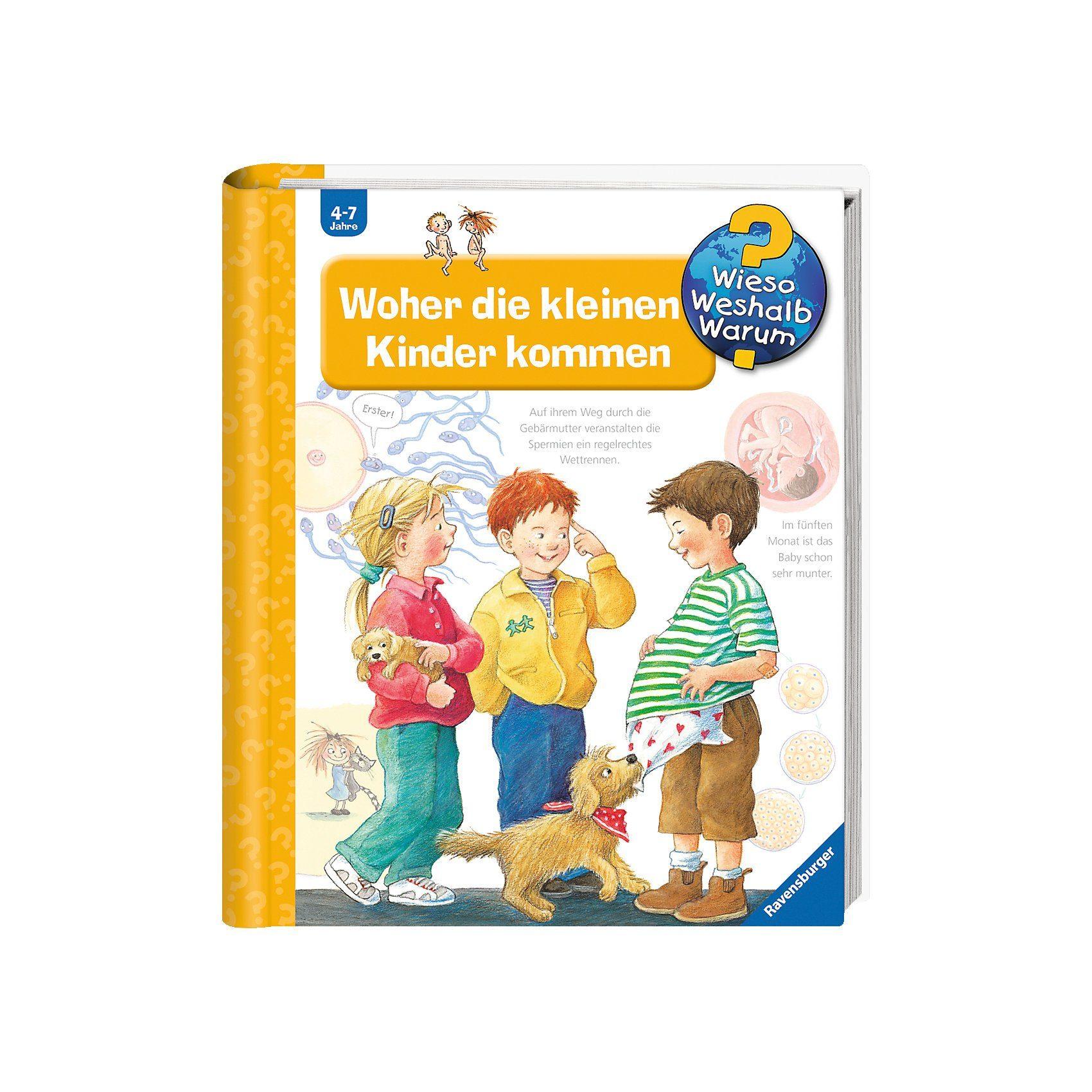 Ravensburger WWW Woher die kleinen Kinder kommen