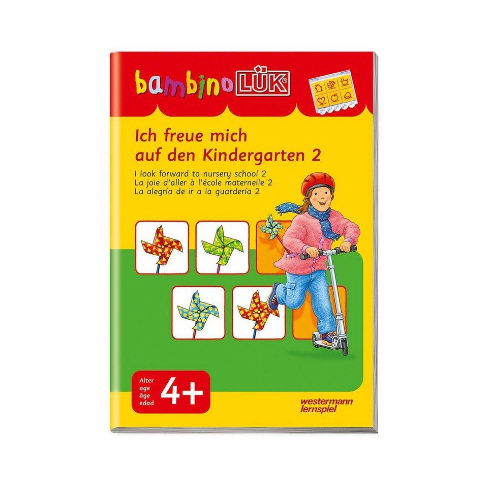 Westermann Verlag bambinoLÜK: Ich freue mich auf den Kindergarten 2 online kaufen