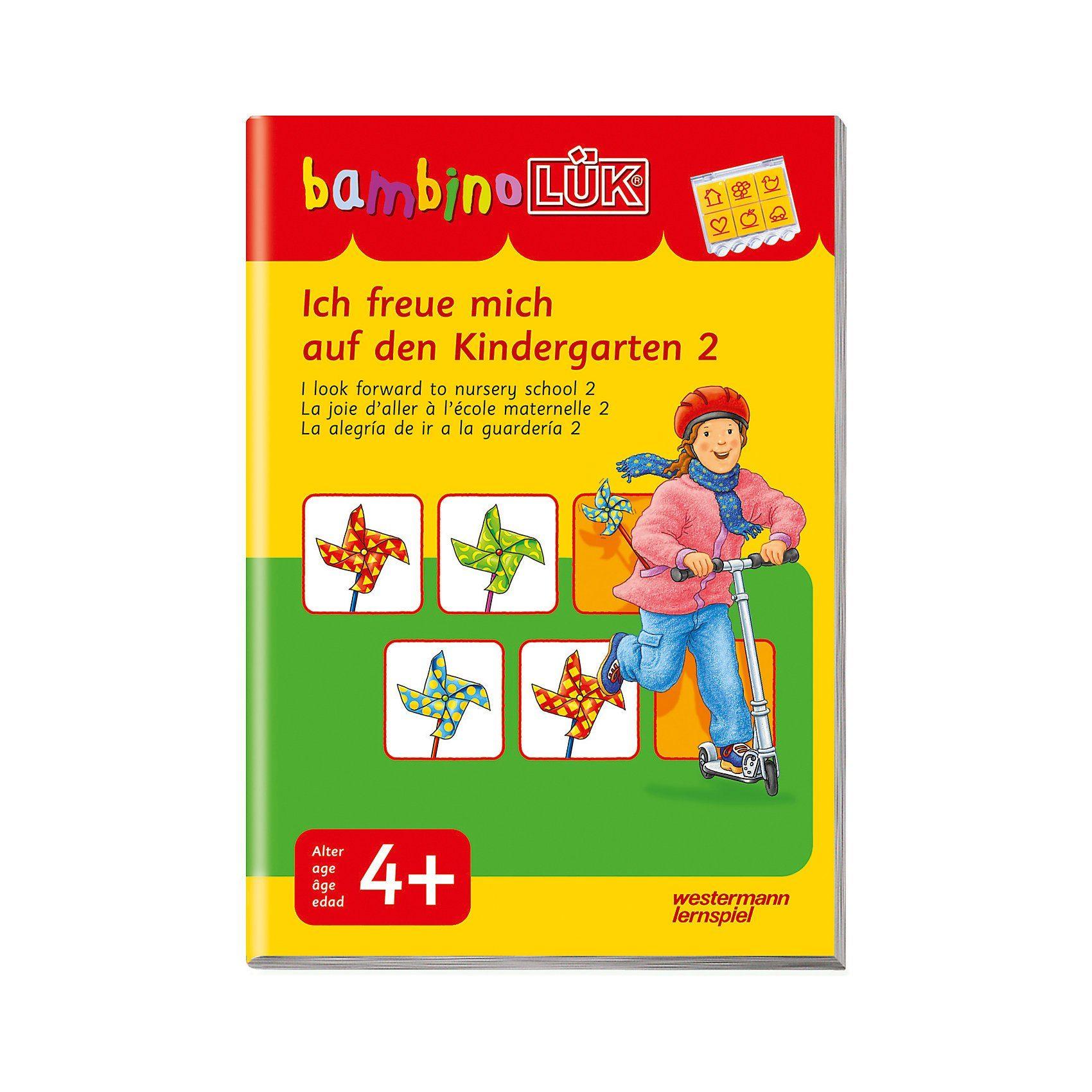 Westermann Verlag bambinoLÜK: Ich freue mich auf den Kindergarten 2