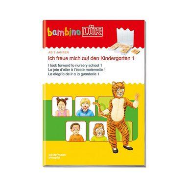 Westermann Verlag bambinoLÜK: Ich freue mich auf den Kindergarten 1