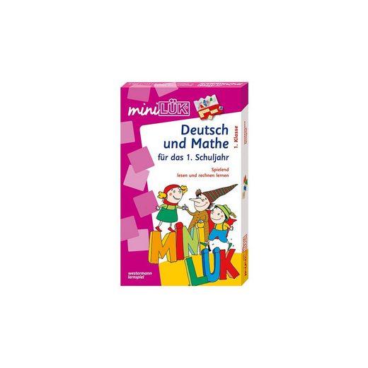 Westermann Verlag mini LÜK Set: Deutsch und Mathe, 1. Klasse