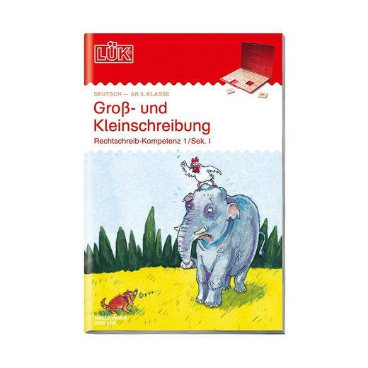 Westermann Verlag LÜK: Rechtschreiben, Sekundarstufe I, neue Rechtschreibung