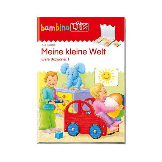 Westermann Verlag bambino LÜK: Meine kleine Welt: Erste Bildwörter, Übungsheft