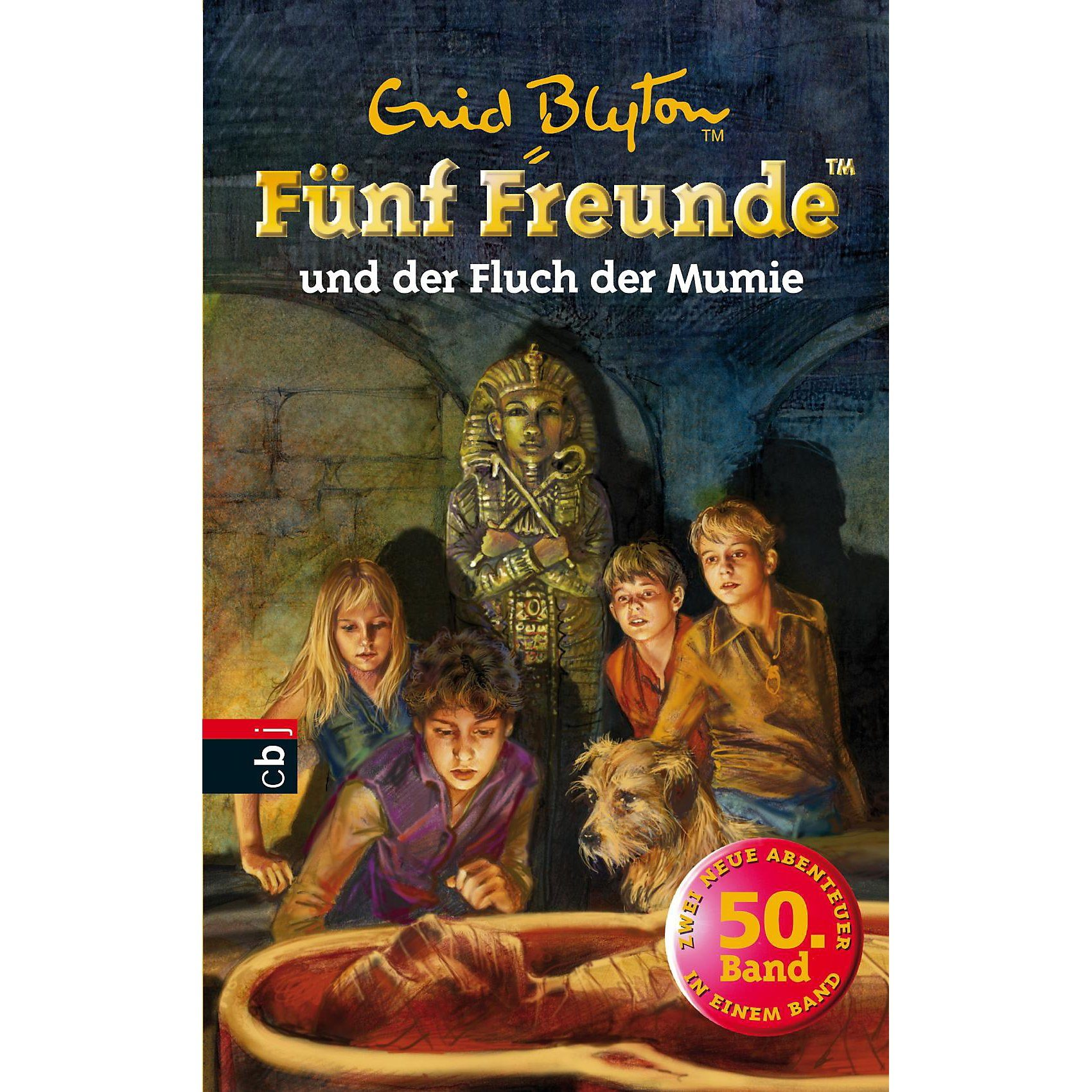 cbj + cbt Verlag Fünf Freunde und der Fluch der Mumie, Sammelband