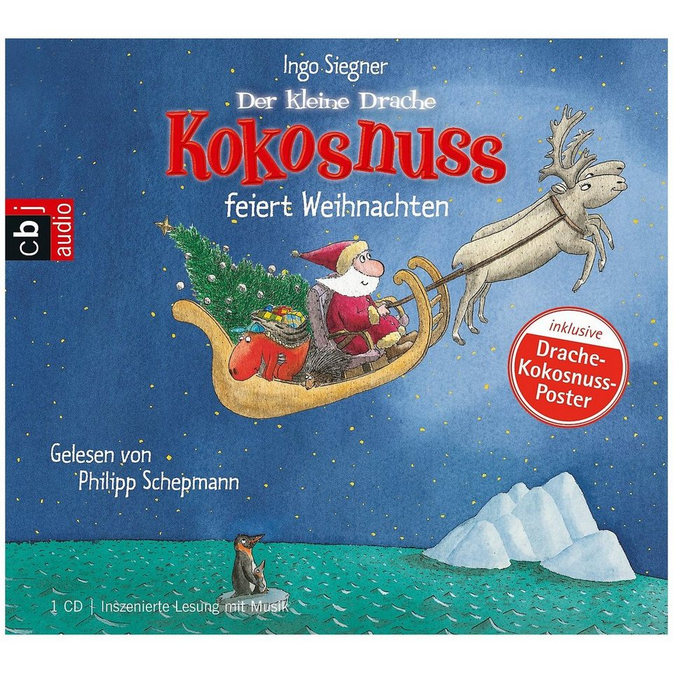 Cd Weihnachten.Cbj Cbt Verlag Der Kleine Drache Kokosnuss Feiert Weihnachten 1 Audio Cd Online Kaufen Otto