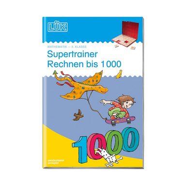 Westermann Verlag LÜK: Supertrainer Rechnen bis 1000, Übungsheft