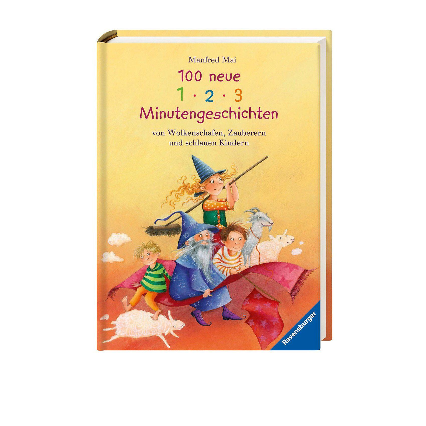 Ravensburger 100 neue 1-2-3 Minutengeschichten von Wolkenschafen, Zaubere