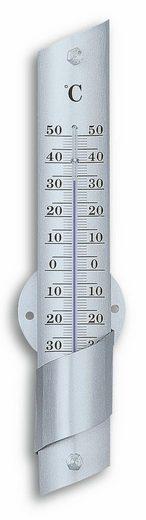 TFA Dostmann Analoges Innen-Außen-Thermometer aus Aluminium
