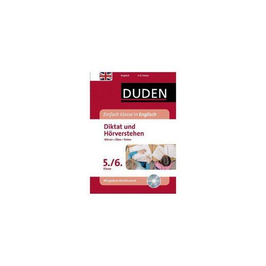Cornelsen Verlag Duden Einfach klasse in Englisch, Diktat und Hörverstehen 5.