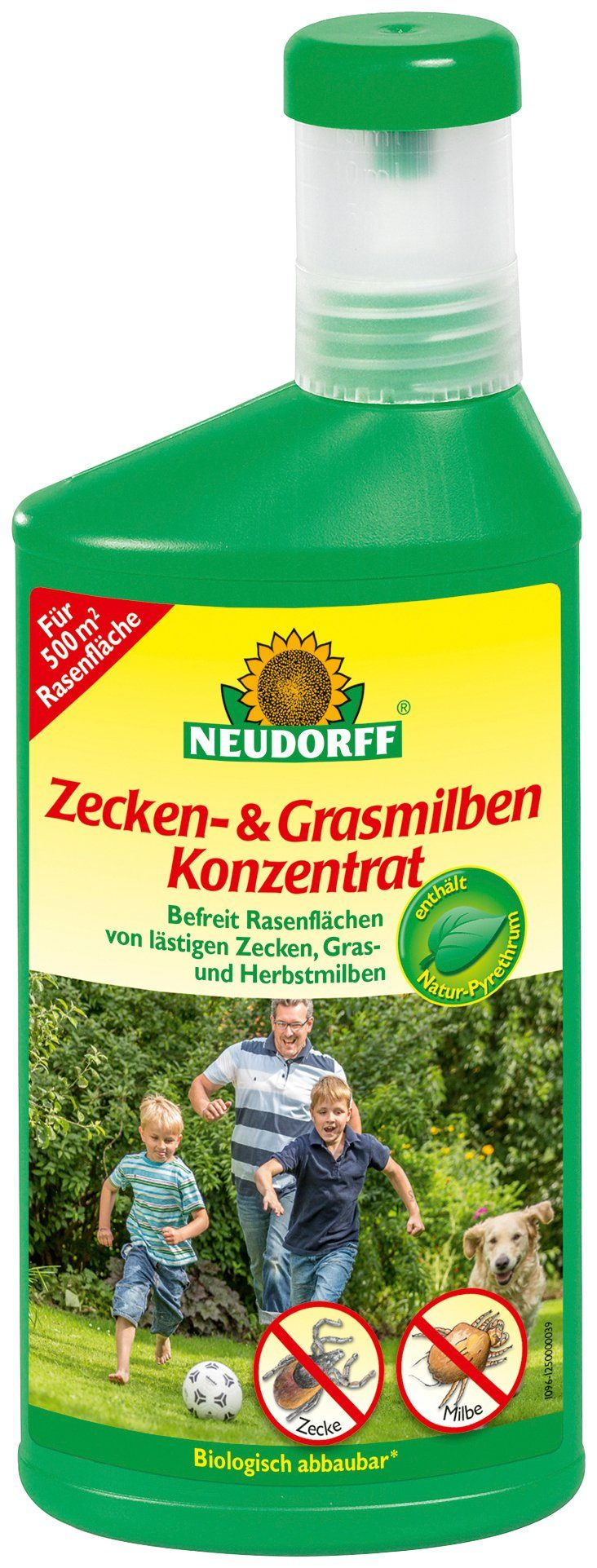 NEUDORFF Insektenvernichter »Zecken- & GrasmilbenKonzentrat«, 500 ml