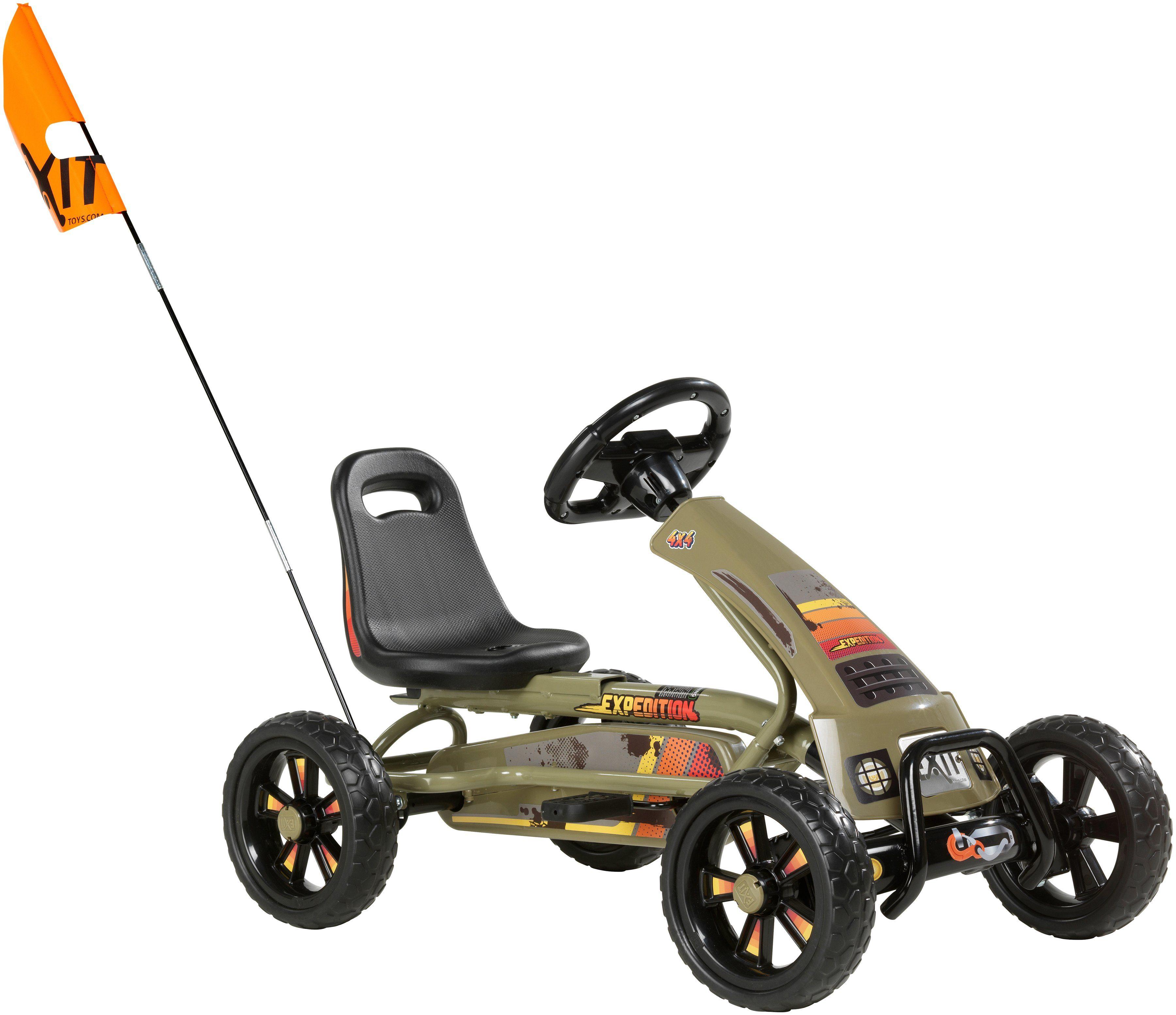 EXIT Go-Kart »Foxy Expedition«, für Kinder von 2 bis 5 Jahre
