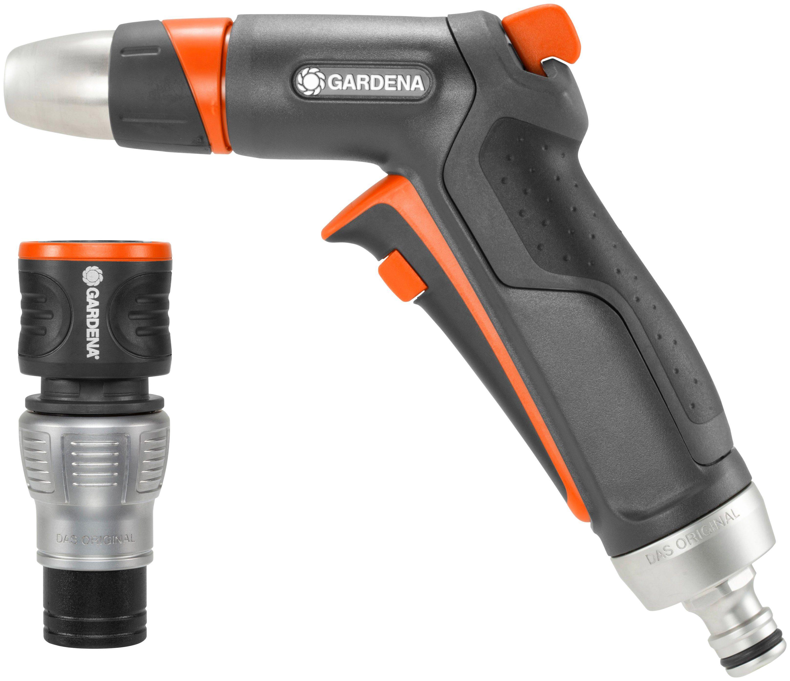 GARDENA Set: Spritzpistole »Premium«, Spritze und Wasserstop