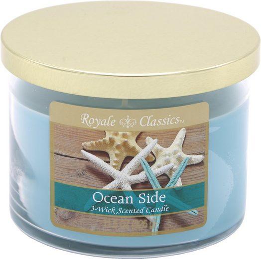 Candle-lite™ Duftkerze »Royale Classic - Ocean Side« (1-tlg)