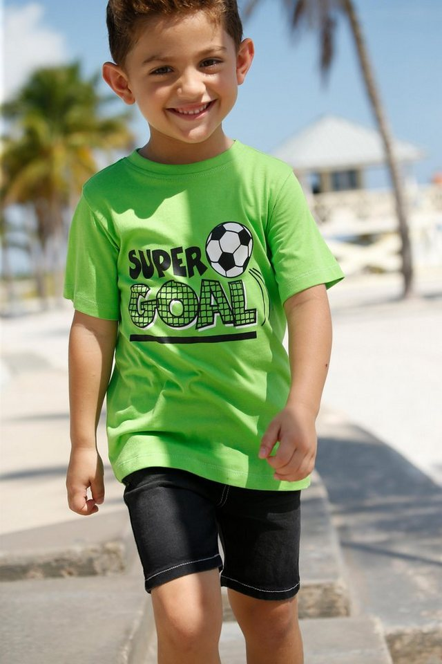 Arizona T-Shirt »Fußball« Druck