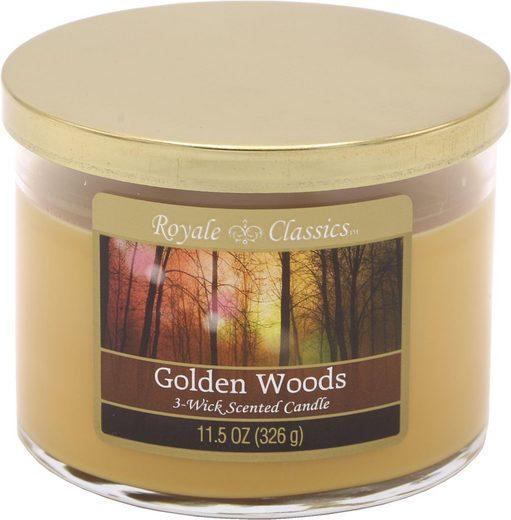 Candle-lite™ Duftkerze »Royale Classic - Golden Woods« (1-tlg)
