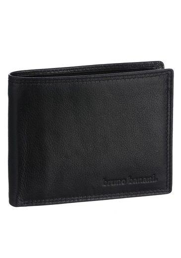 Bruno Banani Geldbörse, aus hochwertigem Rindsleder
