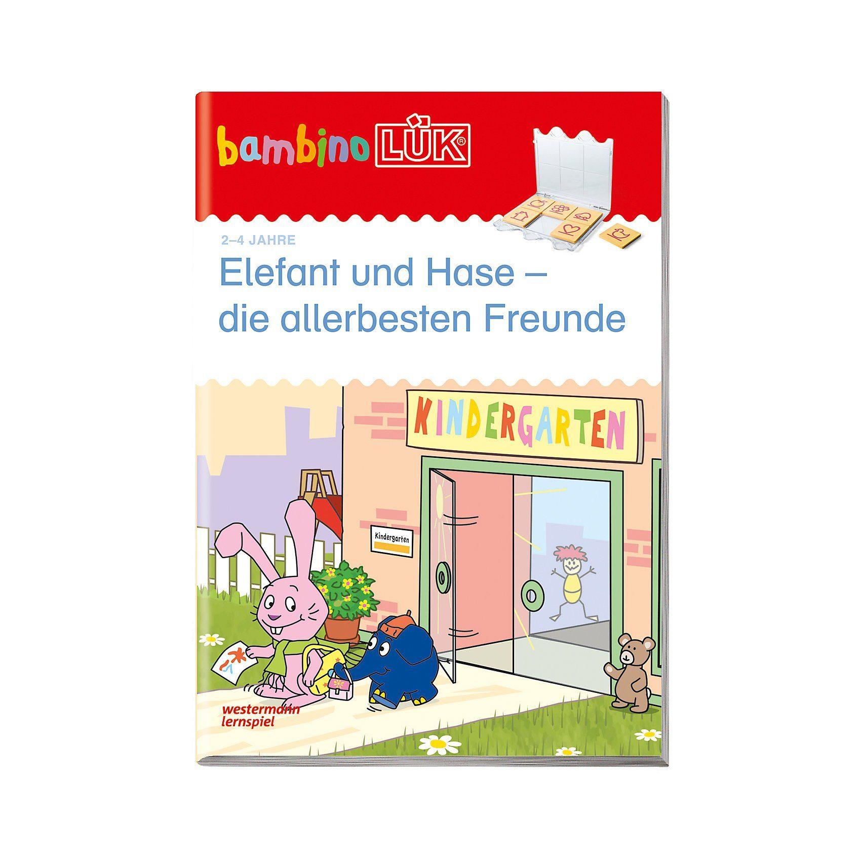 Westermann Verlag bambinoLÜK: Elefant und Hase - die allerbesten Freunde, basa