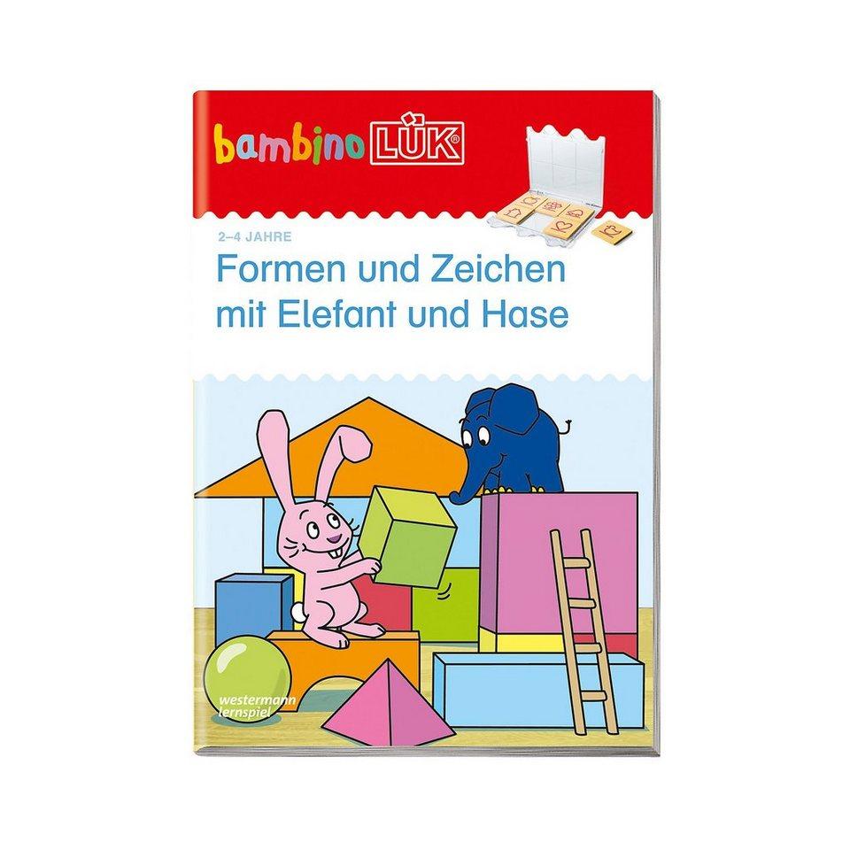 Westermann Verlag bambinoLÜK: Formen und Zeichen mit Elefant und Hase, basales online kaufen
