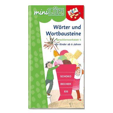 Westermann Verlag miniLÜK: Wörter und Wortbausteine, Übungsheft