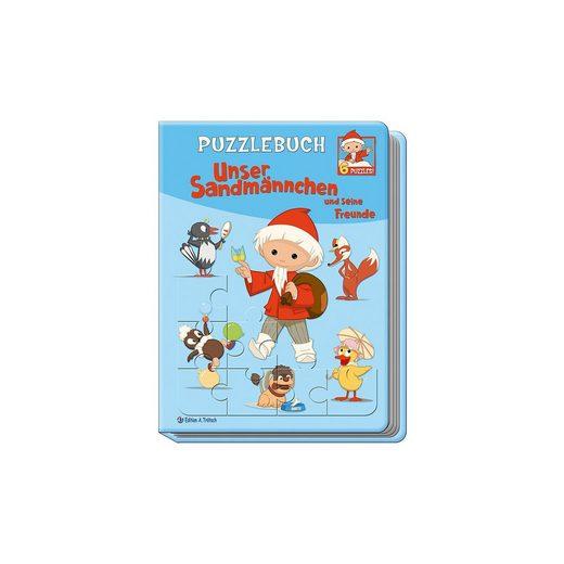 Trötsch Verlag Puzzlebuch Unser Sandmännchen