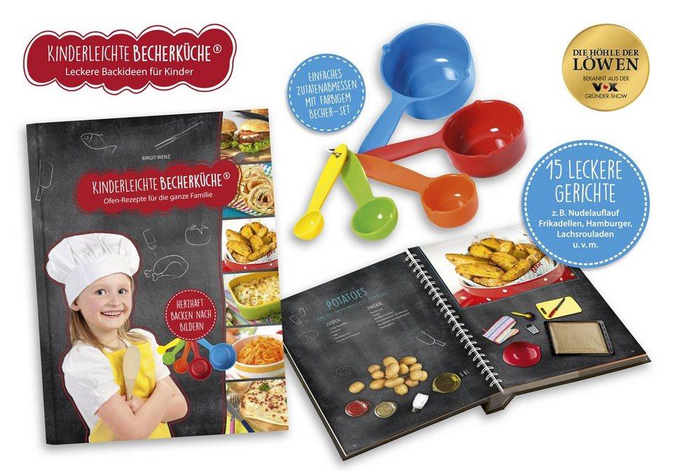 Kinderleichte Becherküche, Ofen Rezepte inkl. 5x Messbecher online kaufen