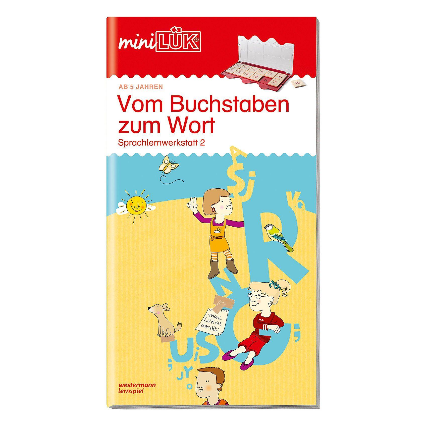 Westermann Verlag miniLÜK: Vom Buchstaben zum Wort, Übungsheft