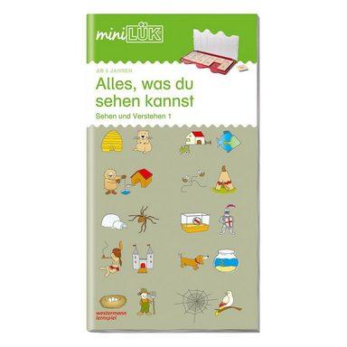 Westermann Verlag mini LÜK: Sehen und Verstehen, Übungsheft