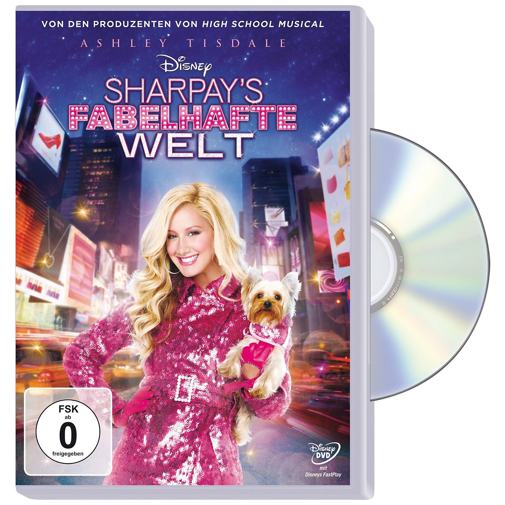 Disney DVD Sharpay`s fabelhafte Welt