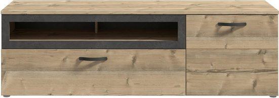 FORTE Lowboard »KALOMIRA«, Breite 179, 6 cm