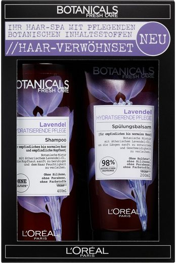 BOTANICALS Geschenk-Set »Lavendel Premium«, 2-tlg.