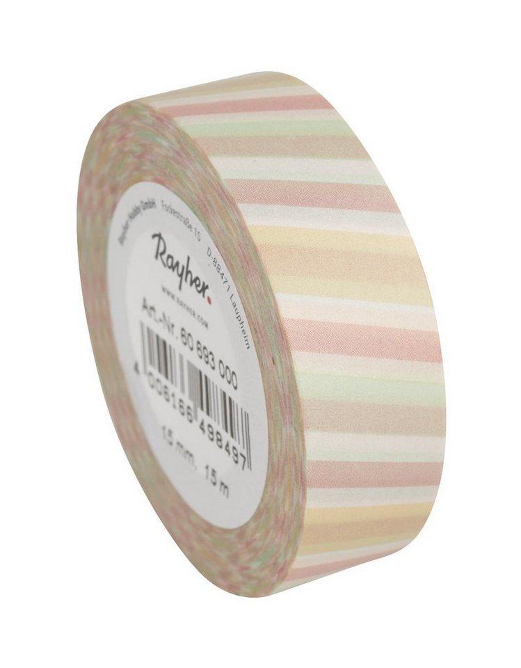"""Washi Tape """"Streifen schräg"""" 15 m 15 mm Masking Tape online kaufen"""