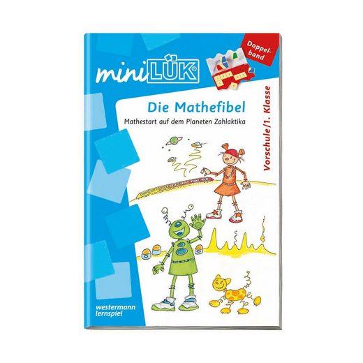Westermann Verlag mini LÜK: Mathe-Fibel, Vorschule/1. Klasse, Übungsheft
