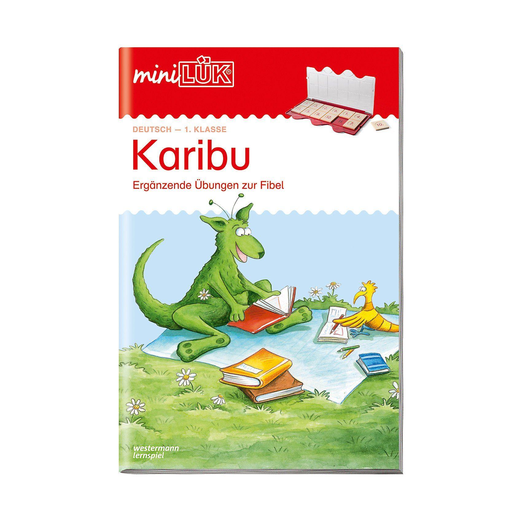 Westermann Verlag mini LÜK: Karibu: Ergänzende Übungen zur Fibel, 1. Klasse, Ü