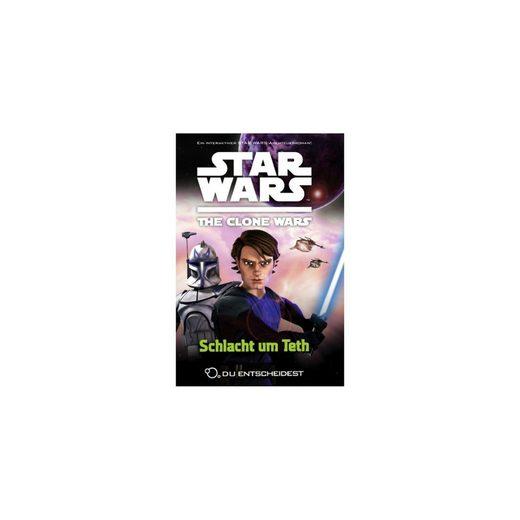 PANINI VERLAG Star Wars The Clone Wars: Du entscheidest: Schlacht um Teth
