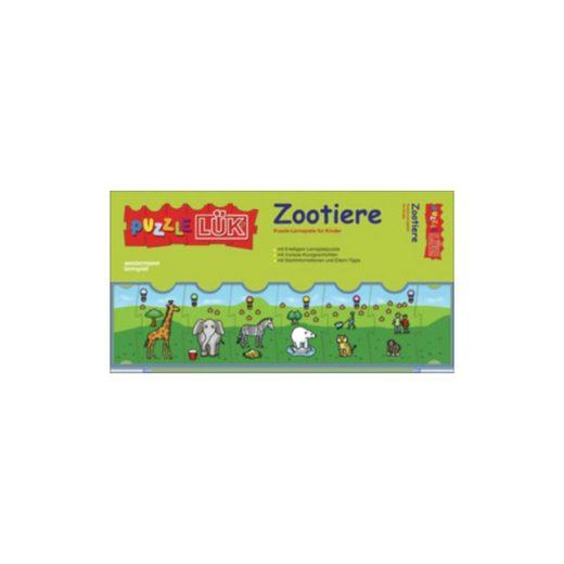 Westermann Verlag PuzzleLÜK Zootiere