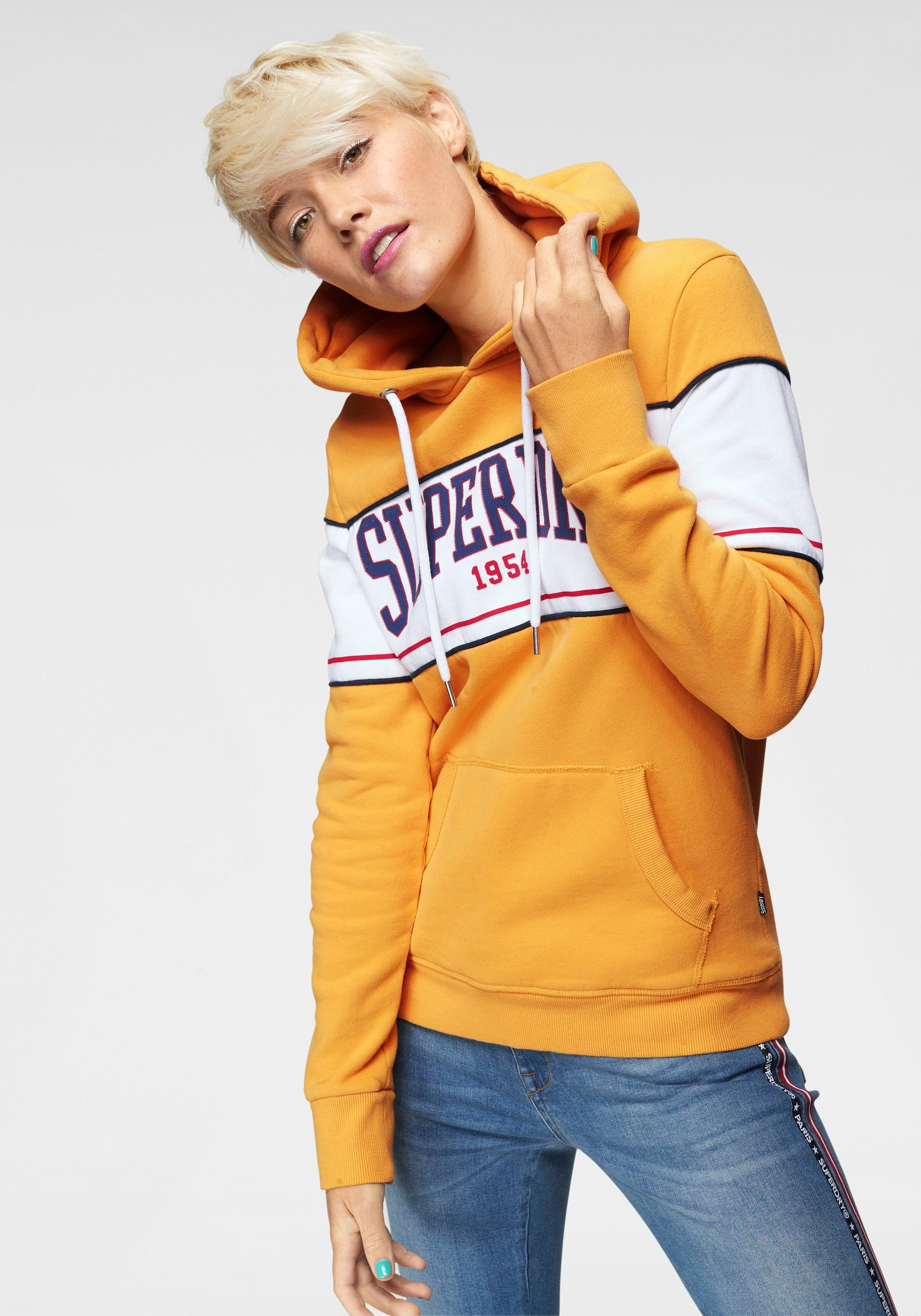 Superdry Kapuzensweatshirt »MOCK APP ENTRY HOOD« im besonderen College-Style