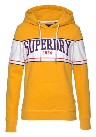 Kapuzensweatshirt Im College »mock Hood« Superdry App Besonderen style Entry PB7qBd