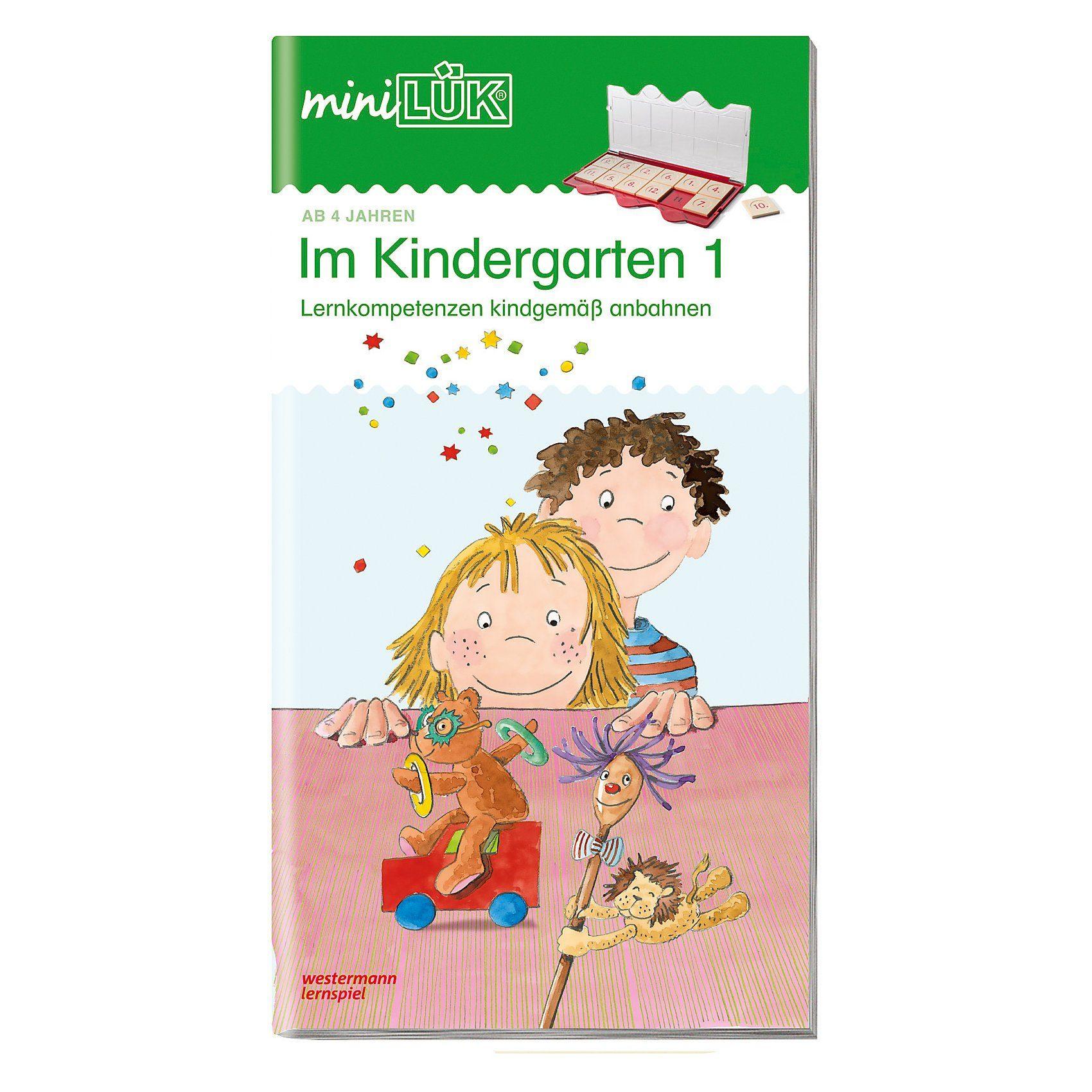 Westermann Verlag mini LÜK: Im Kindergarten, Übungsheft