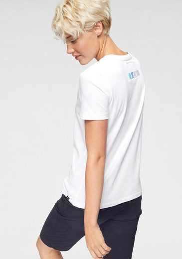 Netzoptik Superdry In Tee« shirt Mit Rainbow Nights logodruck Puff »city Ombre T Entry HfHwqgA
