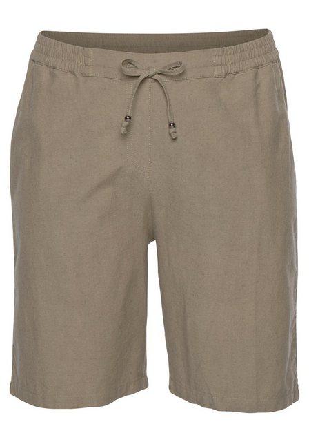 Hosen - Boysen's Shorts mit Leinen › grün  - Onlineshop OTTO