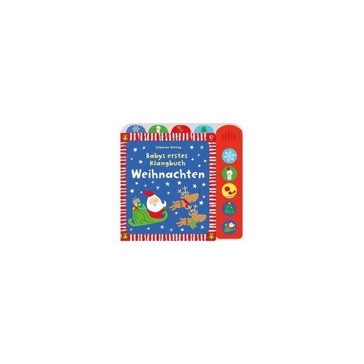 Usborne Verlag Babys erstes Klangbuch: Weihnachten, Soundbuch mit Liedern