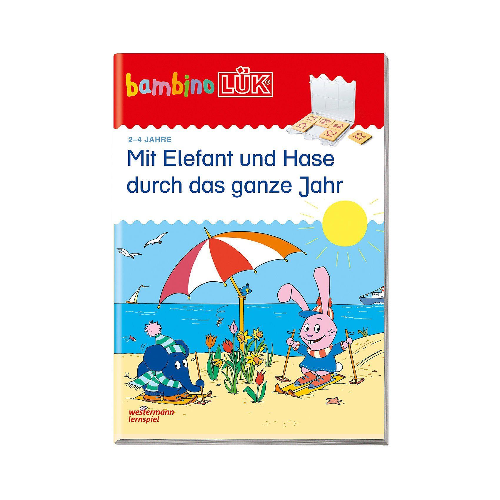 Westermann Verlag bambino LÜK: Mit Elefant und Hase durch das ganze Jahr